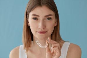 woman who needs orthodontics